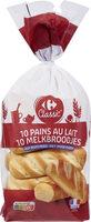 Pains au lait (x 10) - Prodotto - fr