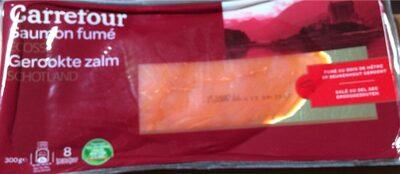 Saumon fumé ecosse - Voedingswaarden - fr