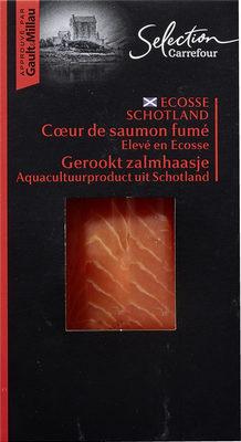 Cœur de saumon fumé Elevé en Ecosse - Product - fr