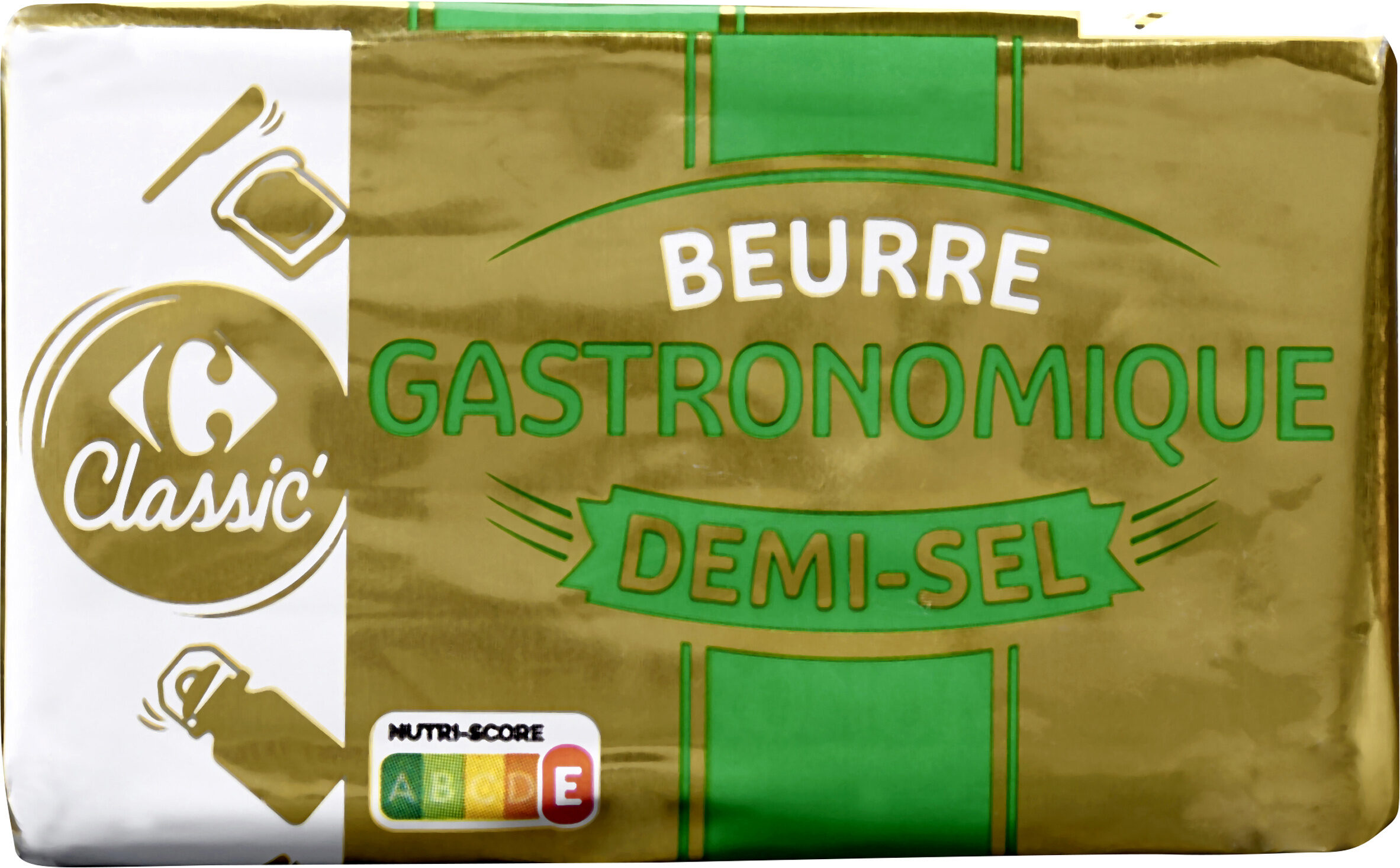 Beurre DEMI-SEL LAIT ORIGINE BRETAGNE - Product - fr