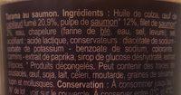 Tarama au saumon - Ingrédients - fr
