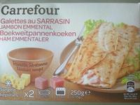 Galettes au Sarrasin, Jambon Emmental - Produit