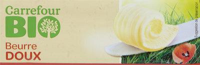 Beurre doux Bio - Product