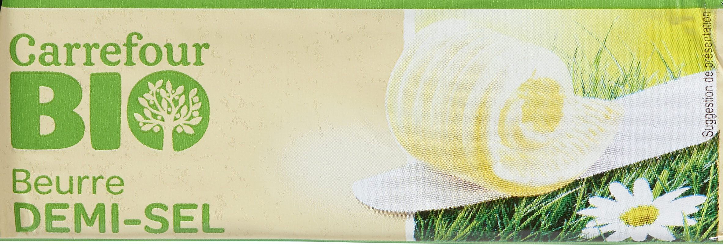 Beurre demi-sel bio - Product - fr