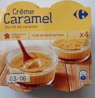 Crème caramel - Produit - fr