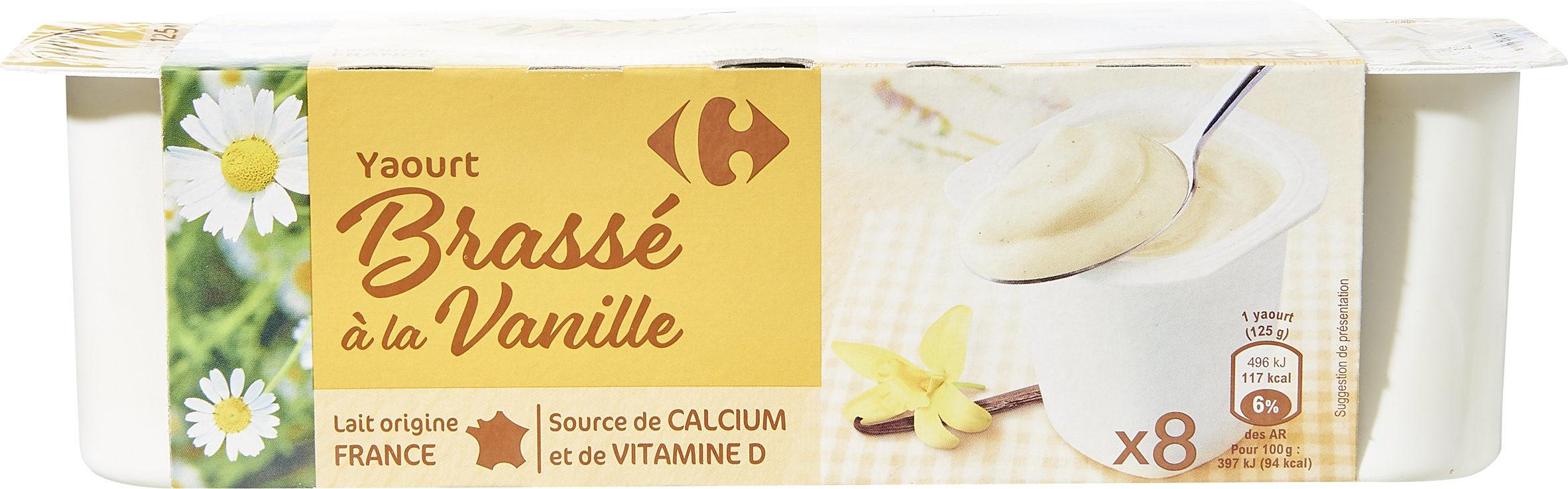Yaourt brassé à la vanille - Product - fr