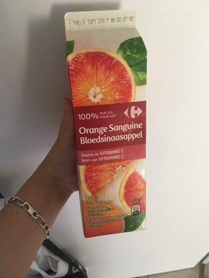 Jus d'orange sanguine - Product