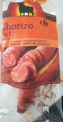 Chorizo origine Espagne (Fort) 2,07€ - Product