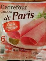 Jambon de Paris - Cuit à l'étouffée - Product - fr