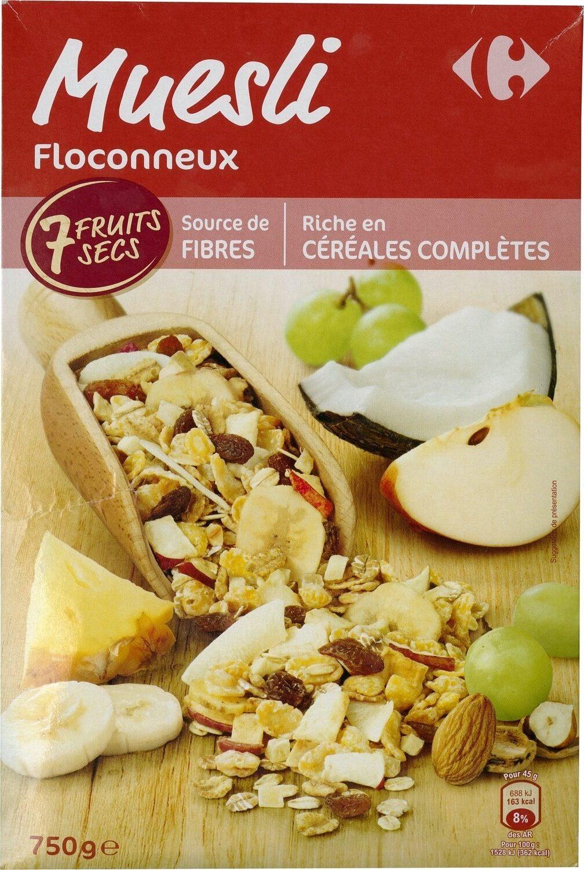 Muesli Floconneux - Produit - fr