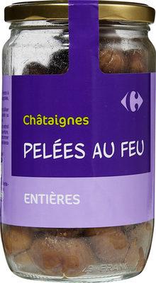Châtaignes Pelées au feu - Produit - fr