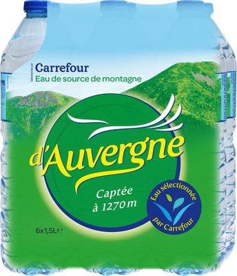 Eau d'Auvergne - Produit - fr