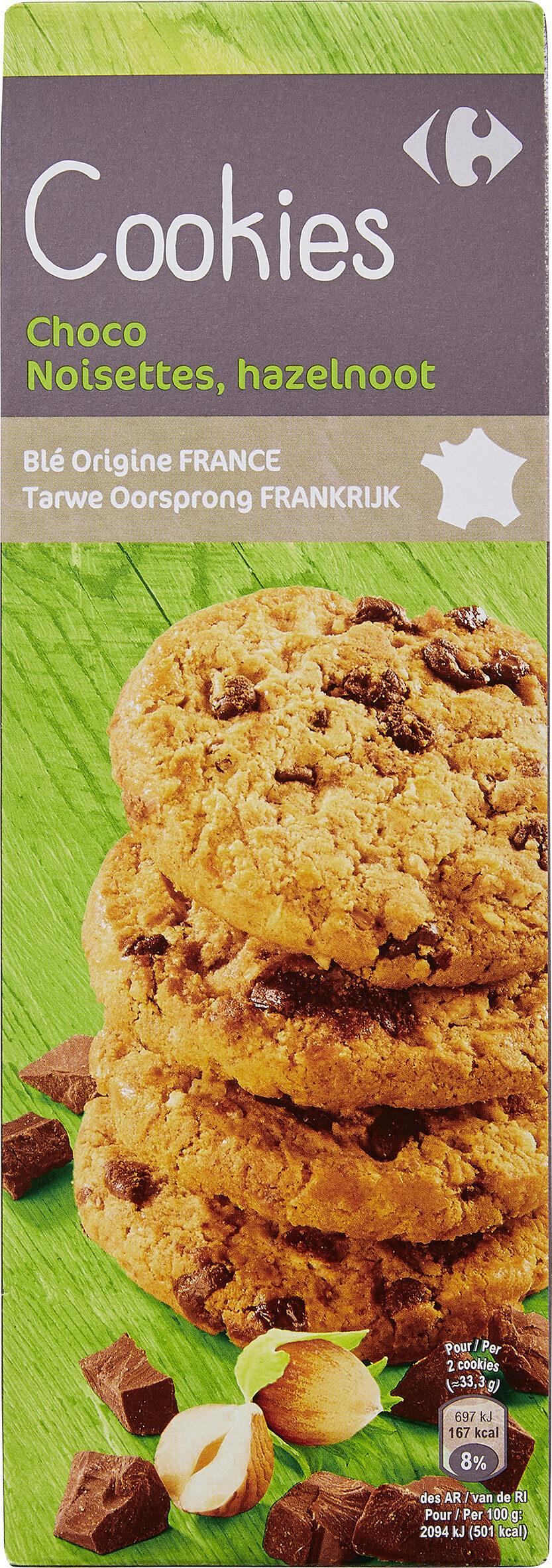 Cookies Choco Noisettes - Prodotto - fr