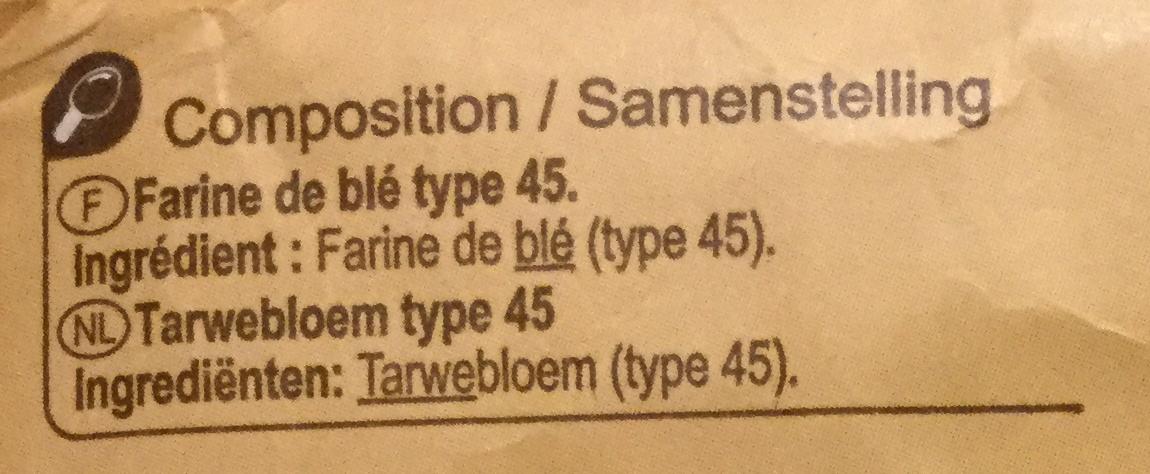 Farine de ble - Ingrediënten - fr