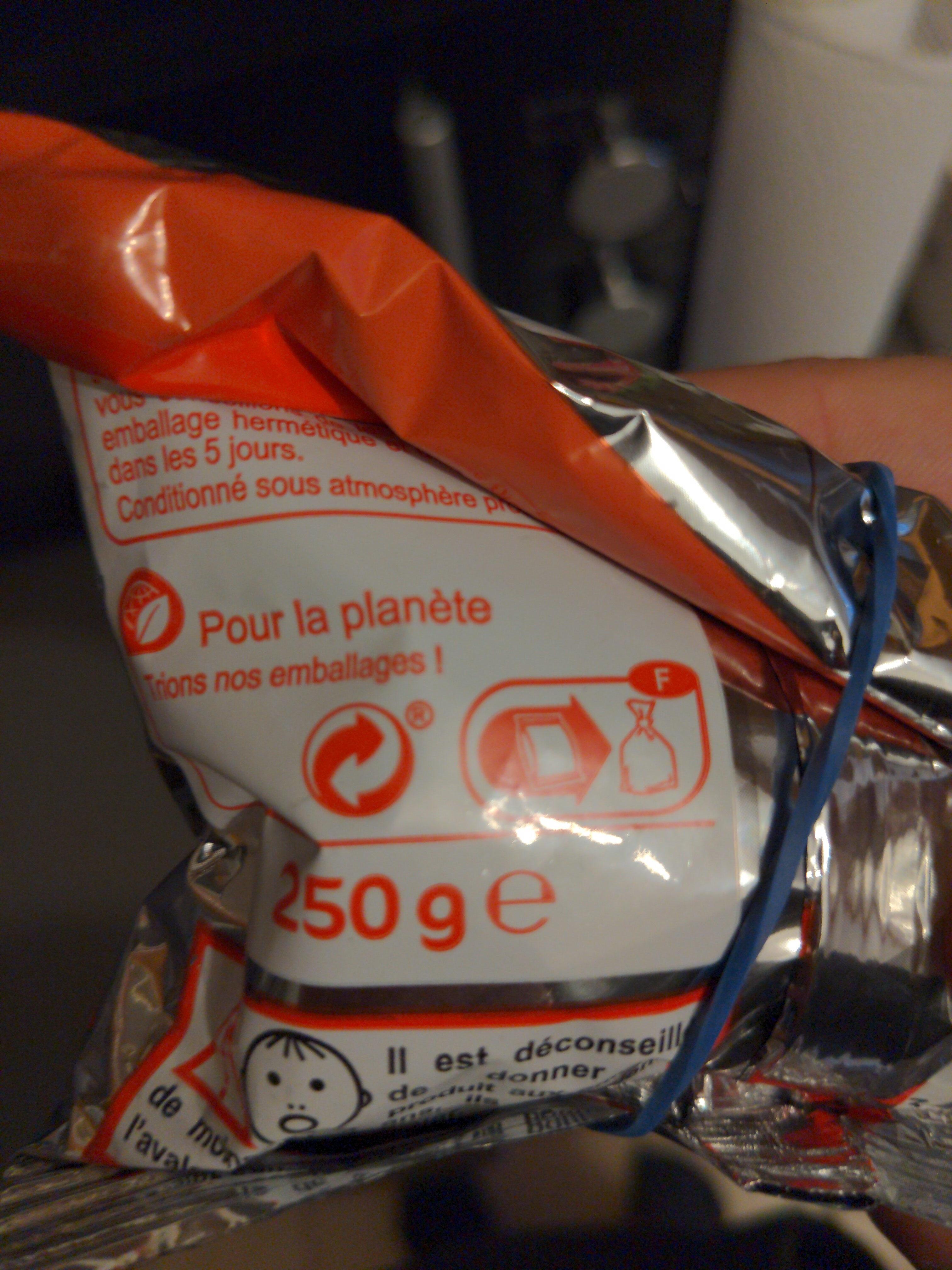 Cacahuètes Grillées Salées - Instruction de recyclage et/ou informations d'emballage - fr