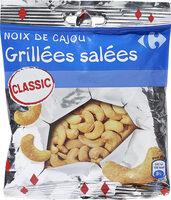 Noix de cajou grillées salées - Product - fr