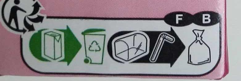Raisin, Jus à base de concentré - Recyclinginstructies en / of verpakkingsinformatie - fr