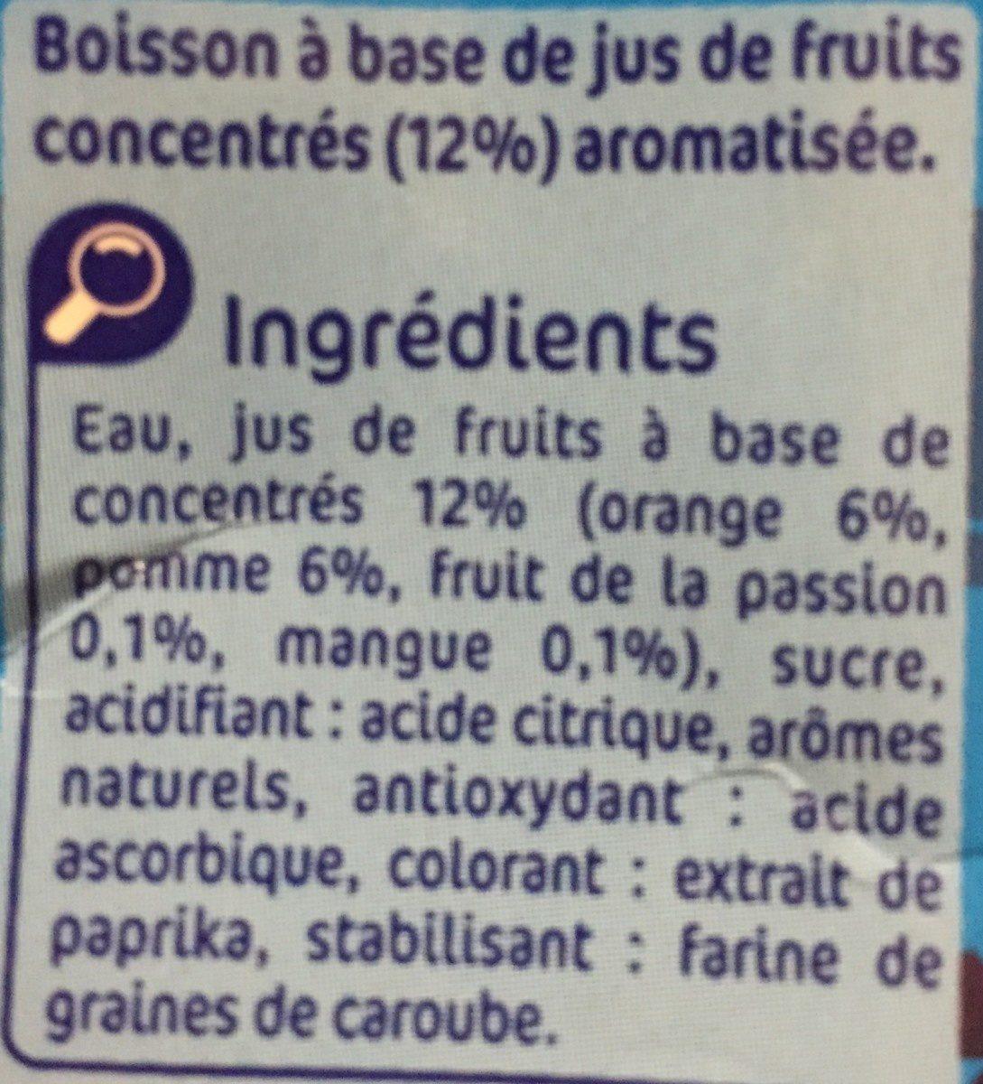 Mini fruity kids - Ingrediënten