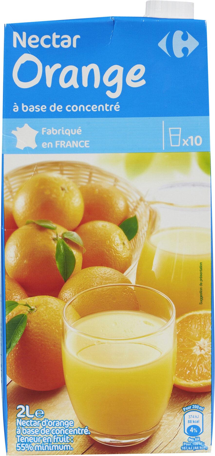 Nectar Orange à base de concentré - Prodotto - fr