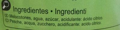 Melocotones - Ingredientes - es