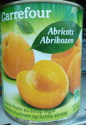 Abricots demi-fruits au sirop léger - Produit - fr