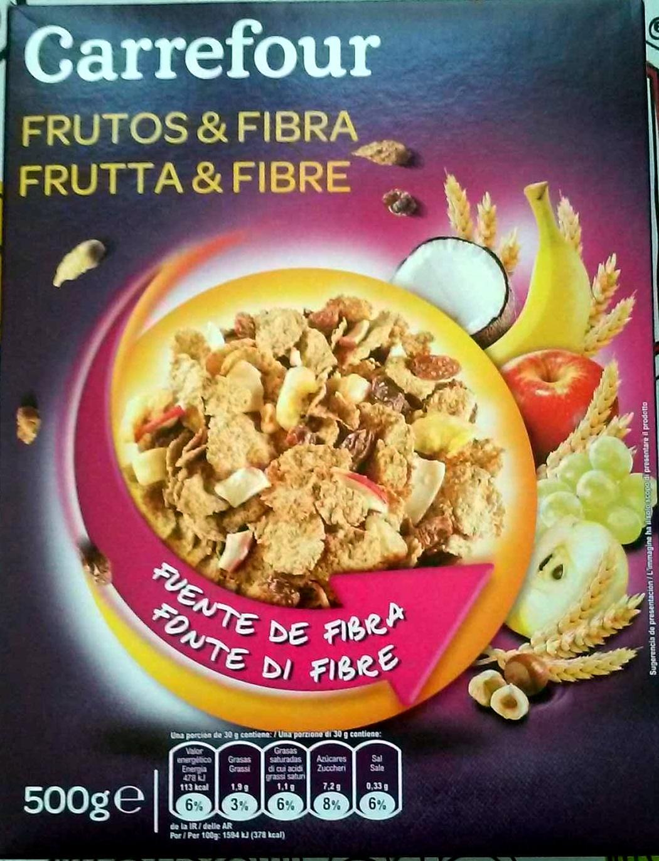Fibra 5 Frutas y Frutos Secos - Producte