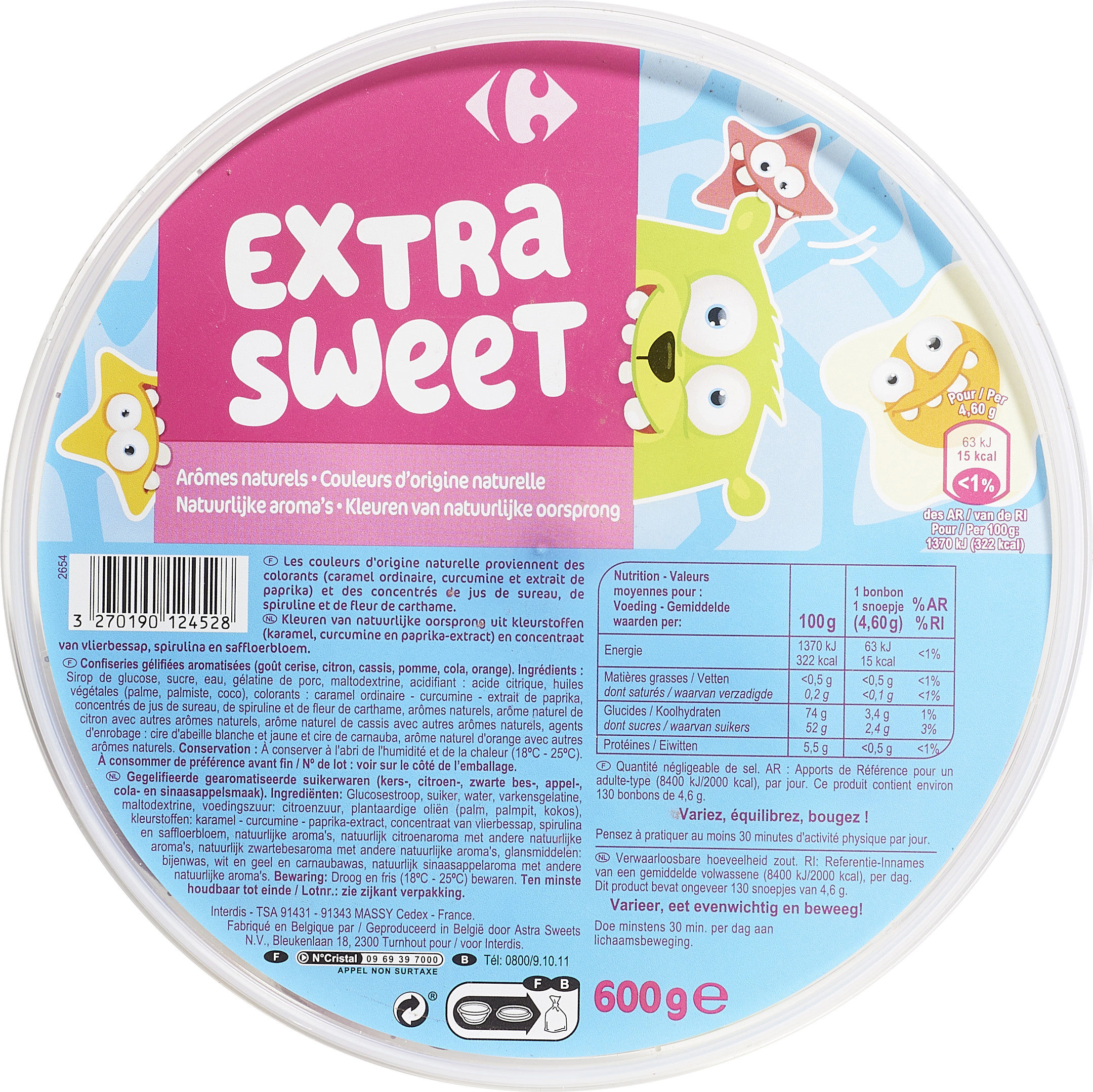 Extra sweet - Product - fr