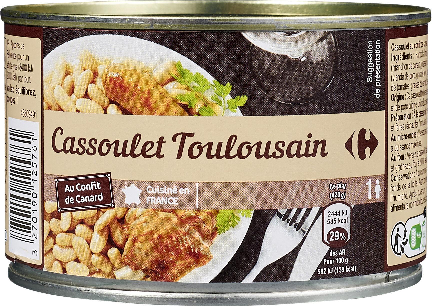 Cassoulet toulousain au confit de canard - Produit - fr