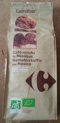 Café moulu du Mexique Bio 100% Arabica - Produit - fr