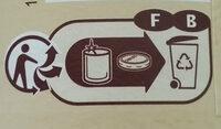 Confiture extra abricots - Istruzioni per il riciclaggio e/o informazioni sull'imballaggio - fr