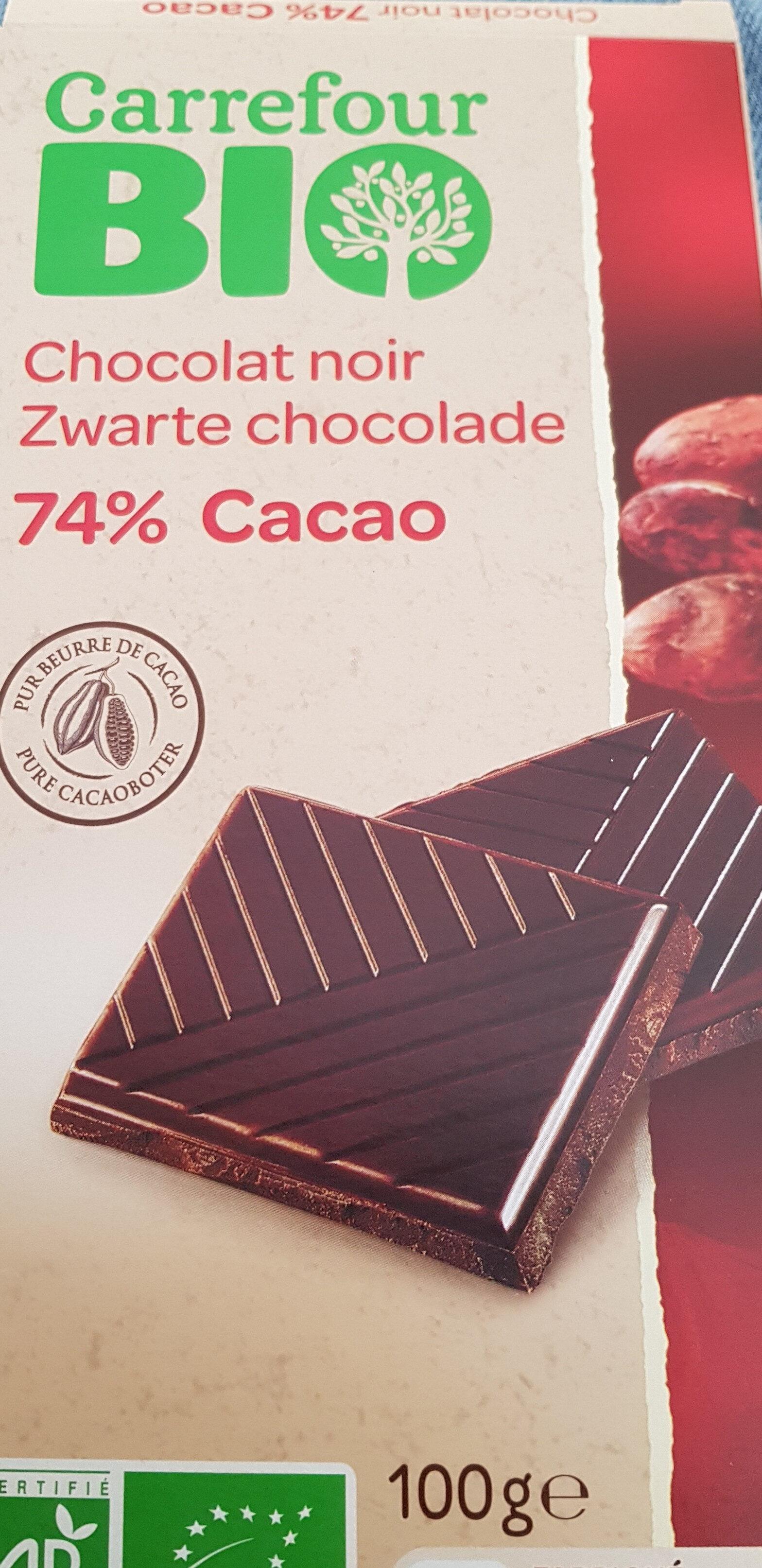 Chocolat noir 74% Cacao - Producto - fr