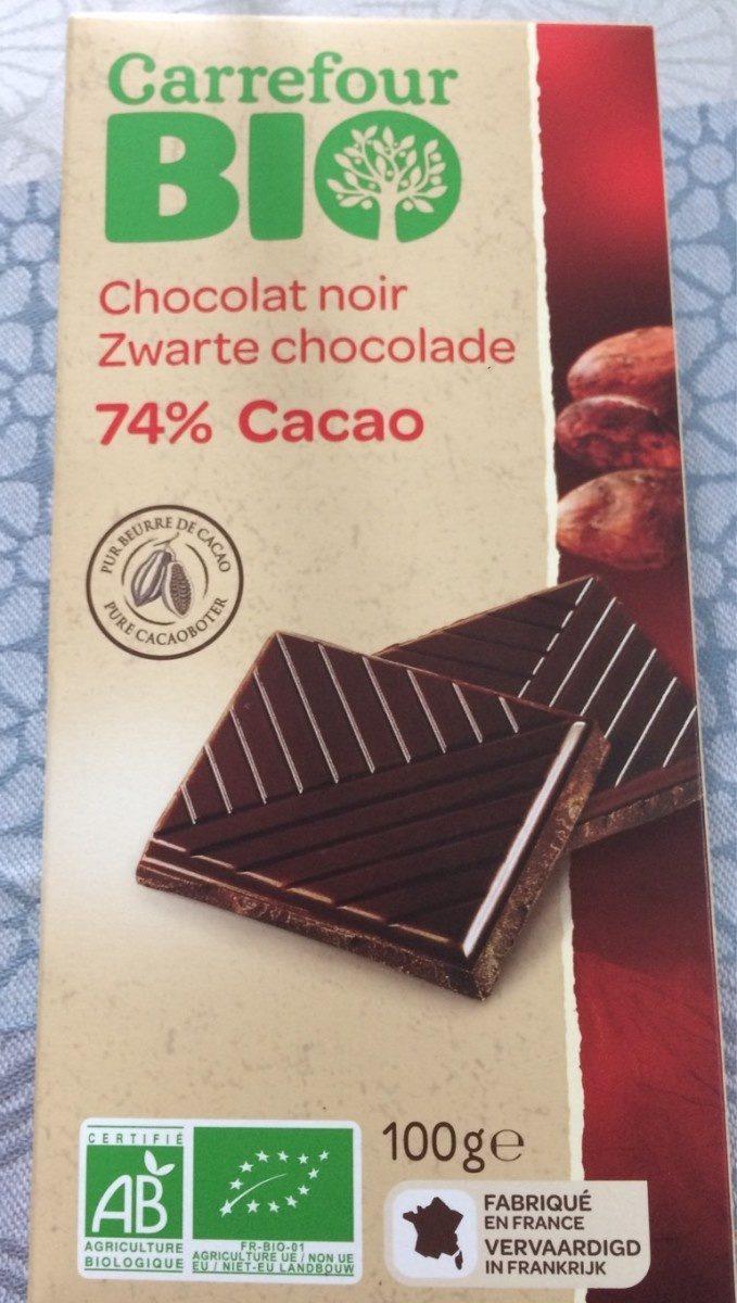 Chocolat Noir Carrefour Bio 100 G