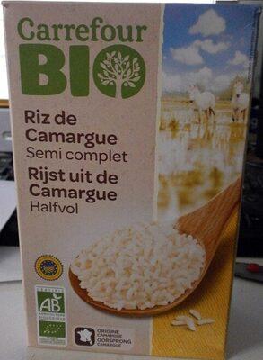 Riz de Camargue Semi-complet Bio - Prodotto - fr