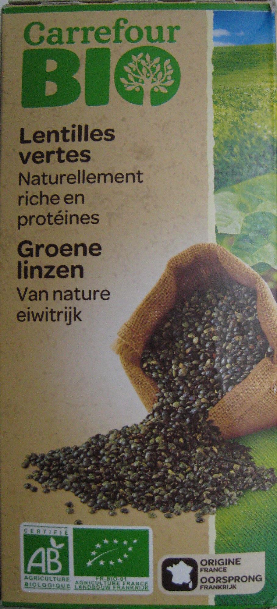Lentilles vertes Bio - Product - fr