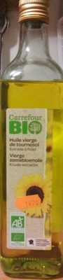 Huile vierge de tournesol bio - Product