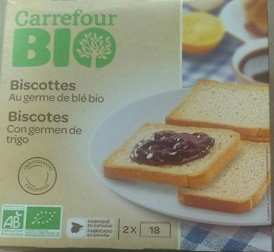 Biscottes bio Carrefour - Product