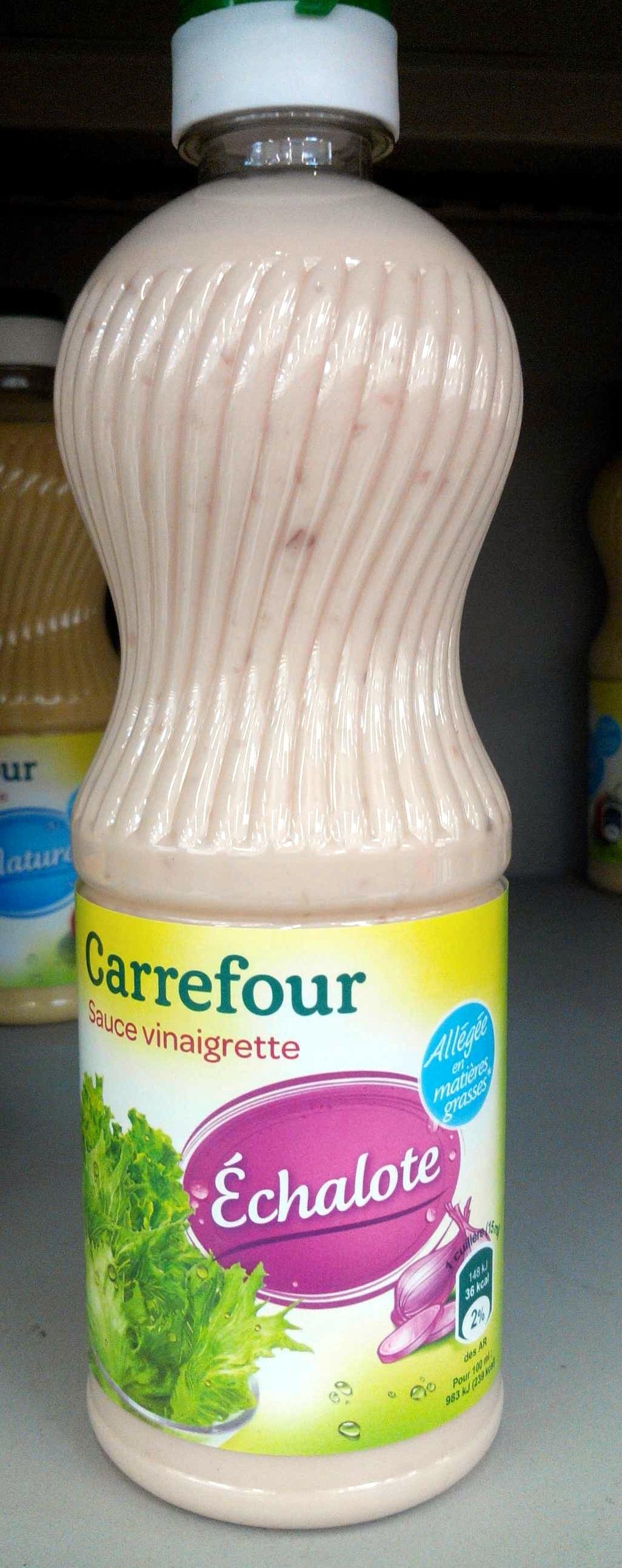 Sauce vinaigrette Échalote allégée - Product