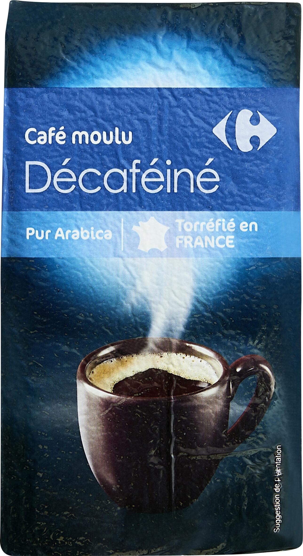 Café moulu décaféiné - Product - fr