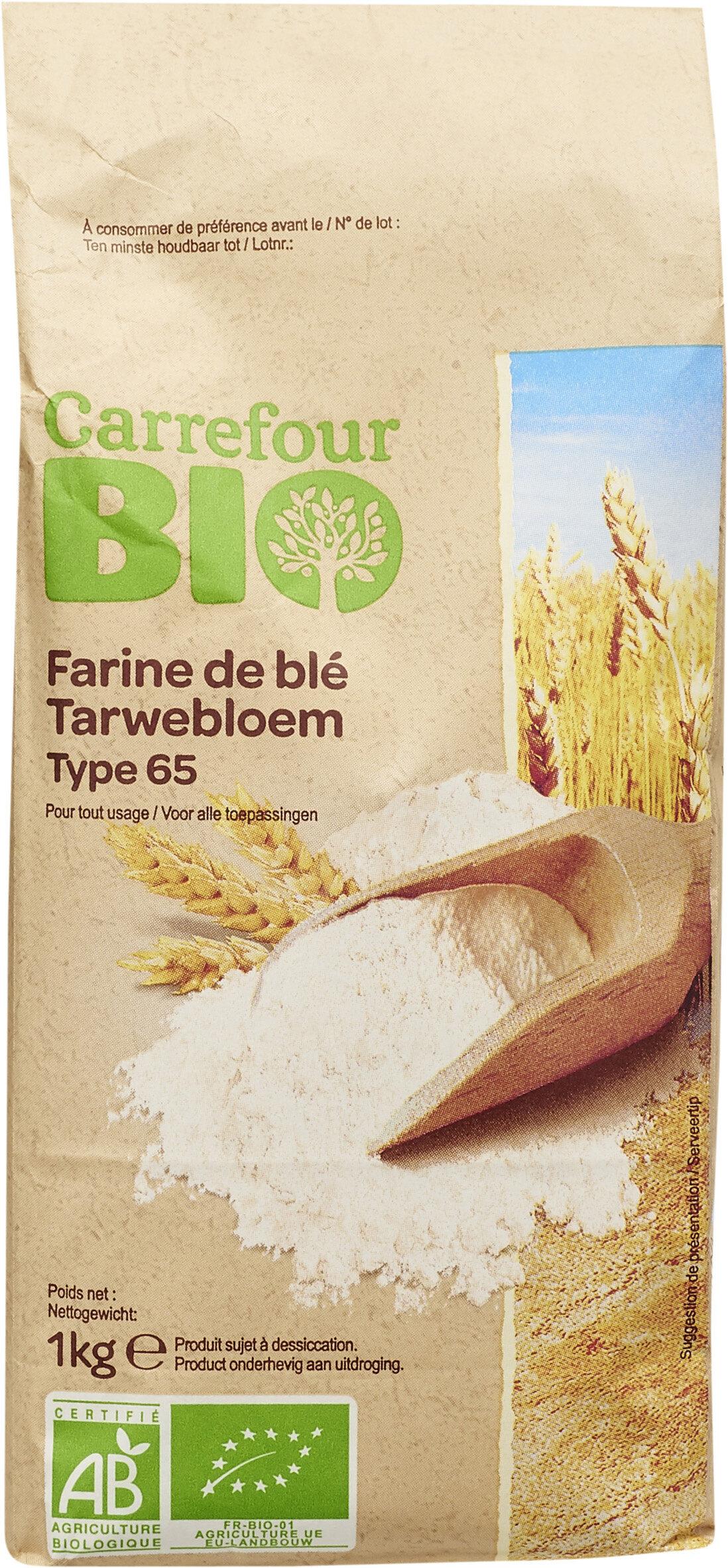Farine de blé français Type 65 - Prodotto - fr