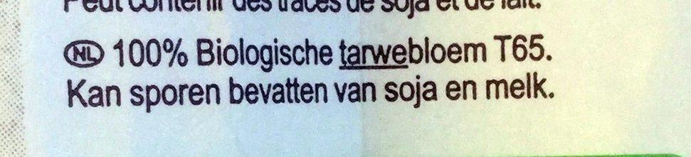 Farine de blé français Type 65 - Ingrediënten - nl