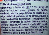 Goûters - Ingrediënten - fr