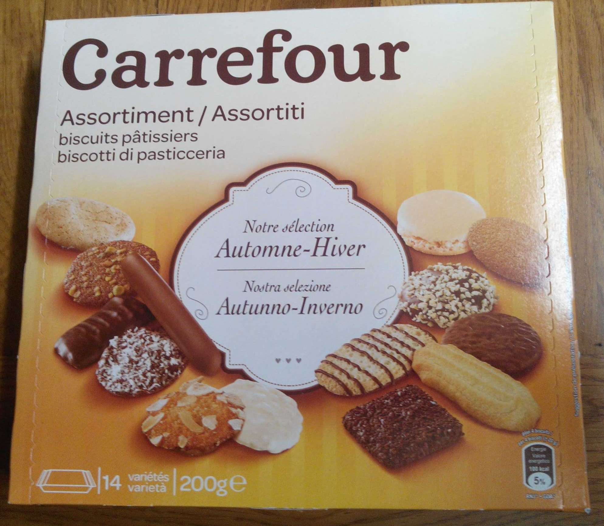 Assortiment biscuits pâtissiers Automne-Hiver - Product - fr