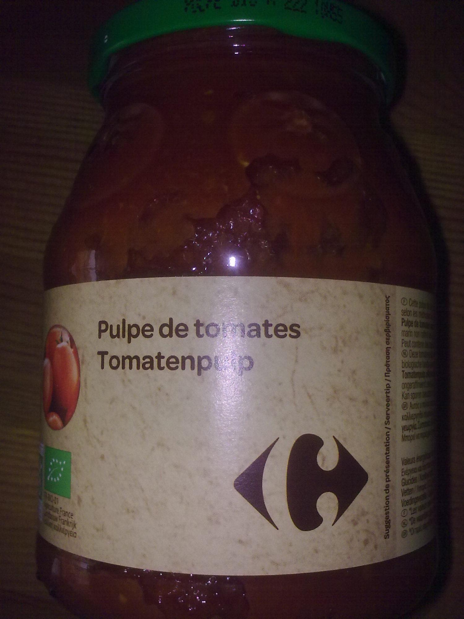 Pulpe de tomates Fraîches - Producto - fr