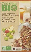 Muesli floconneux 30% fruits secs - Produit - fr
