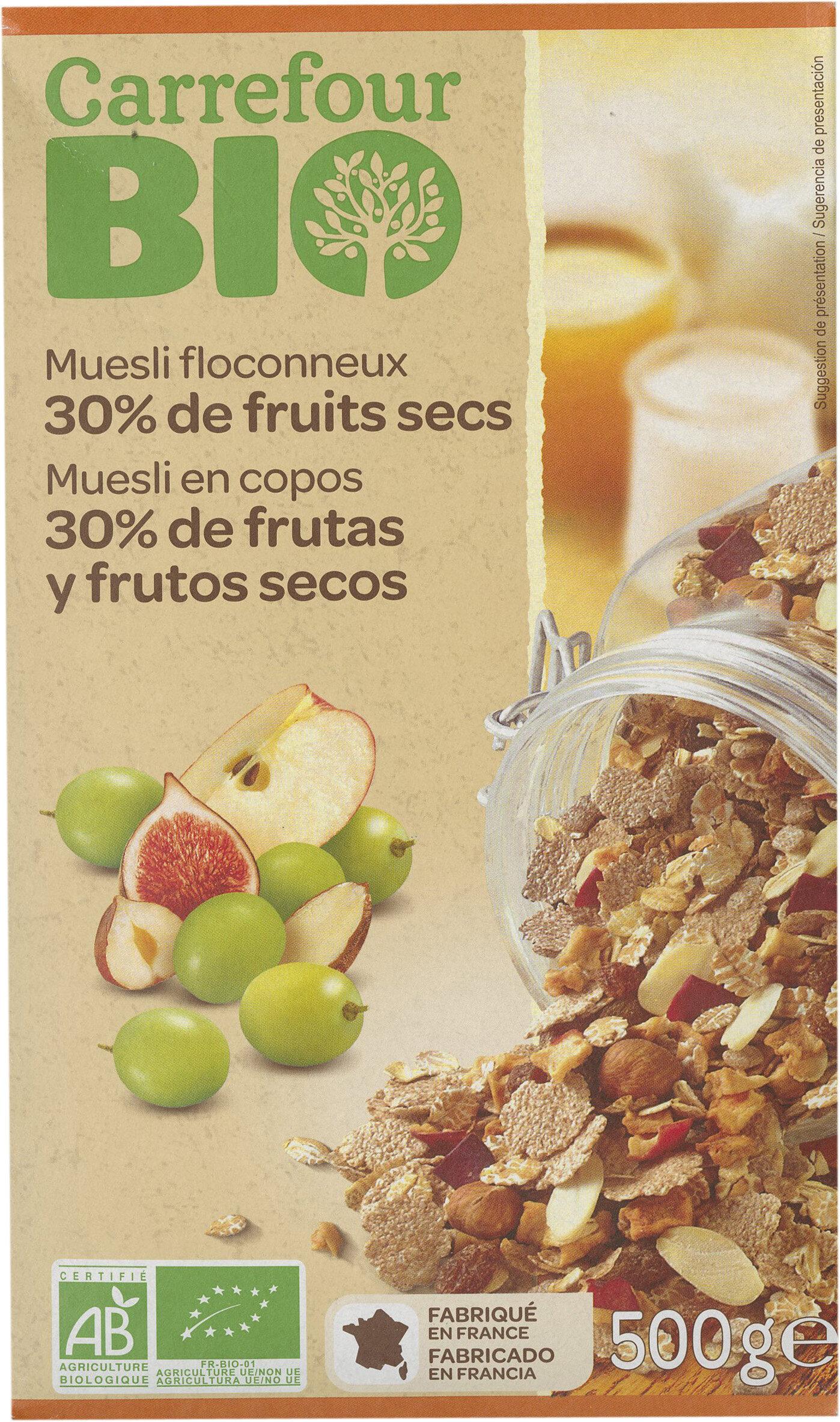 Muesli floconneux 30% fruits secs - نتاج - fr