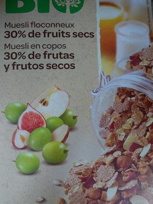Muesli floconneux 30% fruits secs - Product