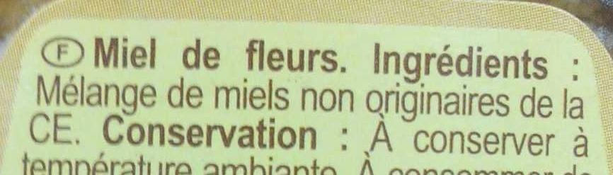 Miel de fleurs - Ingredients - fr