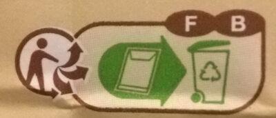 Farine de blé français semi-complète Type110 - Istruzioni per il riciclaggio e/o informazioni sull'imballaggio - fr