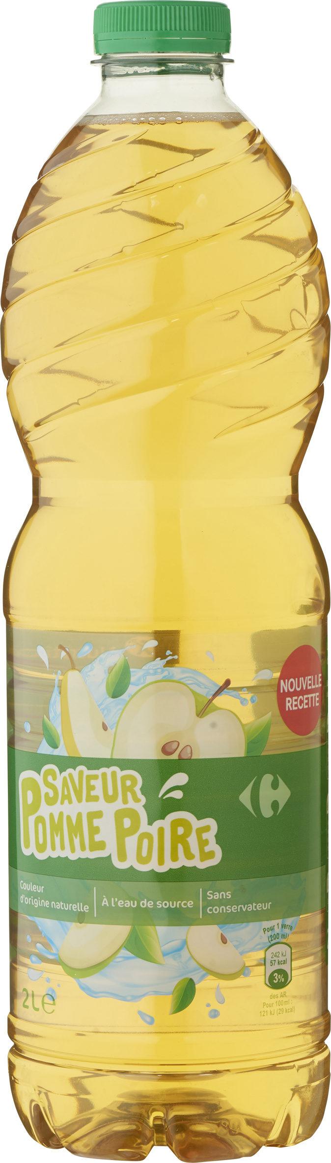 Saveur  pomme poire - Produit