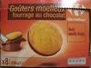 Goûters moelleux au chocolats - Prodotto